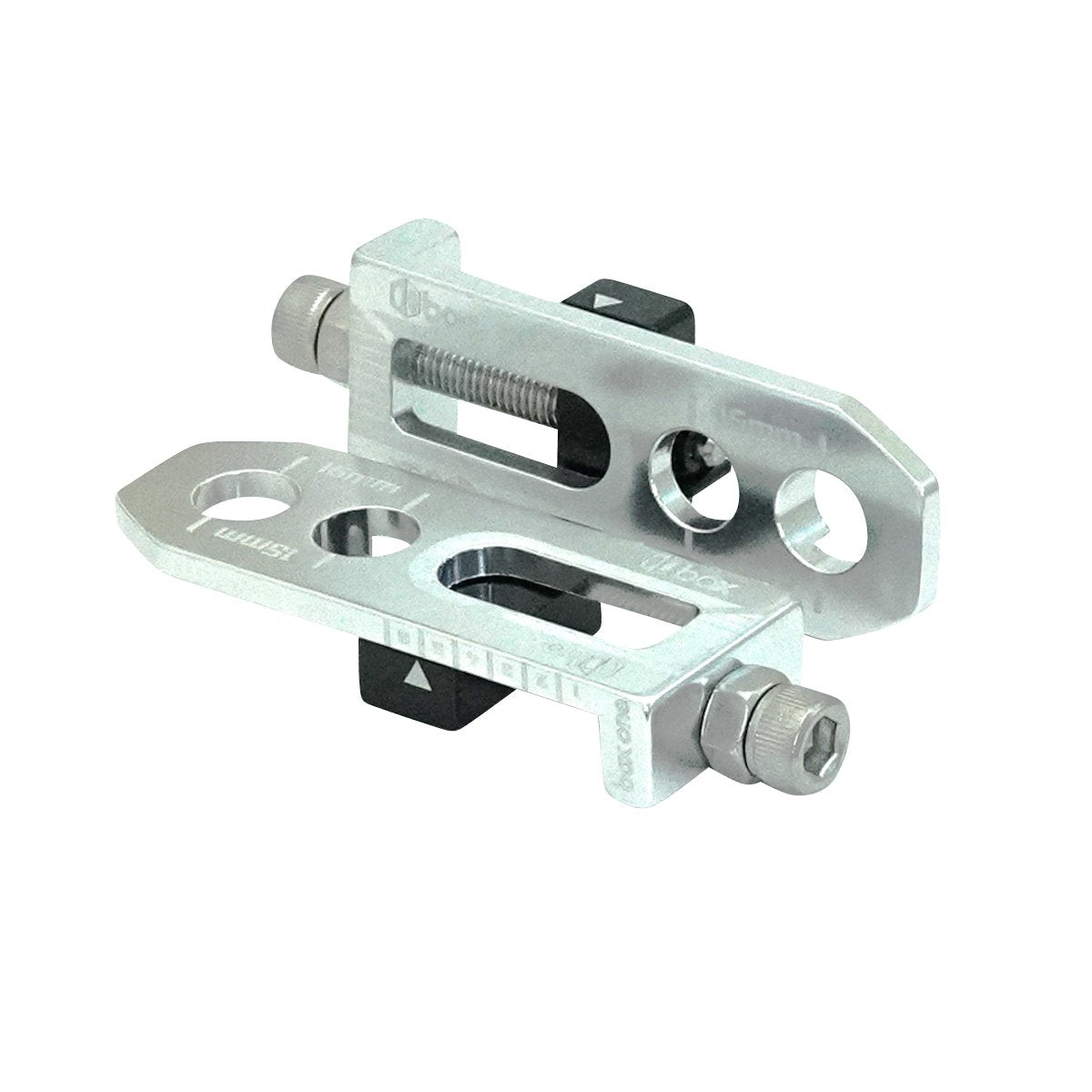 "Box One 3/8"" BMX Chain Tensioners - Pair - Silver"