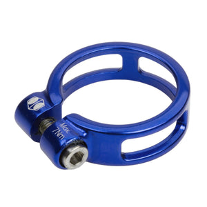 Box Helix Seat Post Clamp - 34.9mm - Blue