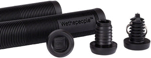 WeThePeople BMX Key Wedge Plastic Bar End Plugs - Black