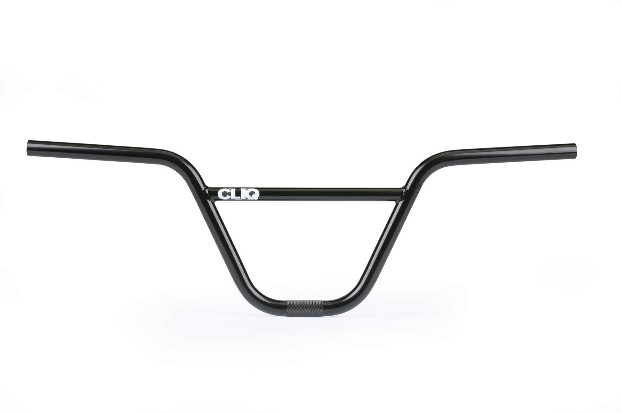 "Cliq Addict 2pc BMX Handlebars - 8.25"" - Black - Made by Haro"