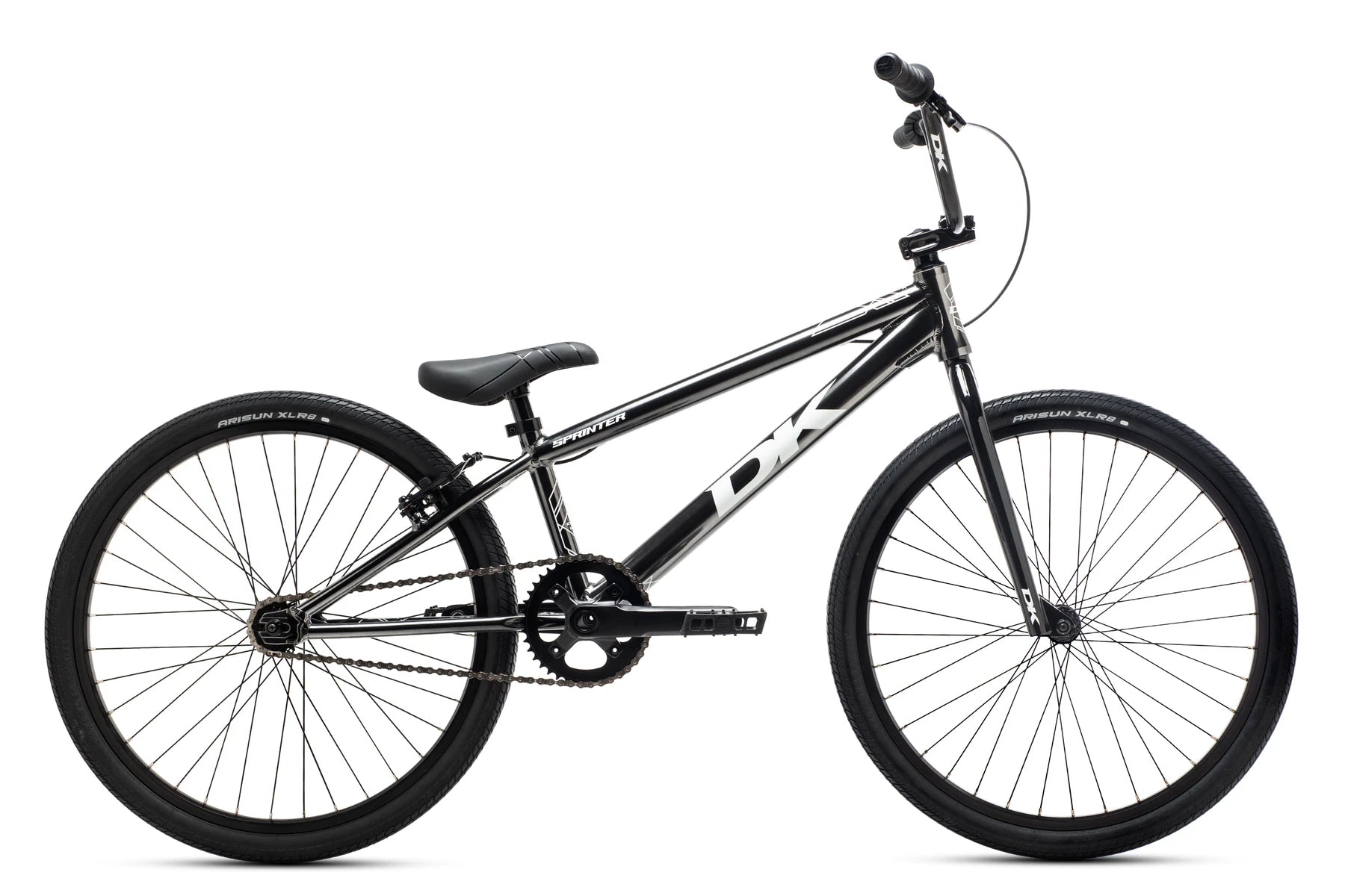 "2021 DK Sprinter Cruiser 24"" Complete BMX Race Bike - 21.75""TT - Smoke Gray"