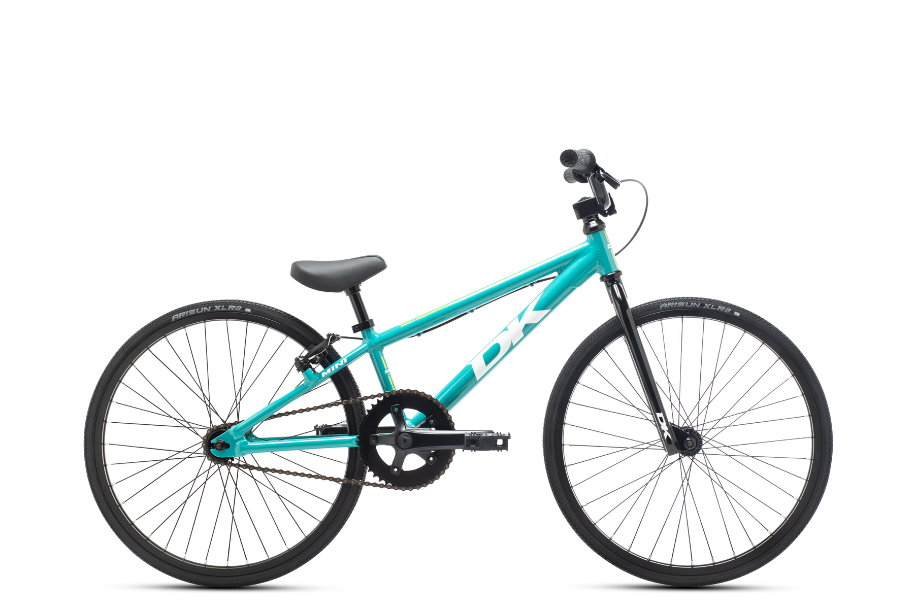 "2021 DK Swift Mini 20"" Complete BMX Race Bike - 17.25""TT - Teal"