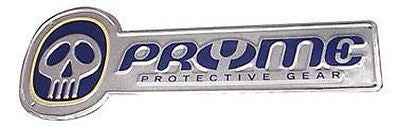 "Pryme BMX Embossed Metal Sign 30""x11"""