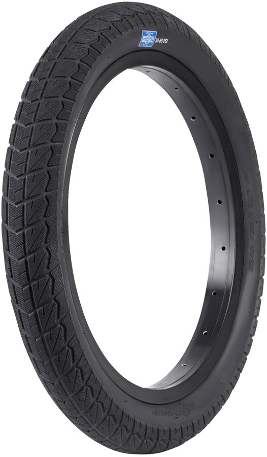 16x2.1 Sunday BMX Current Tire - All Black