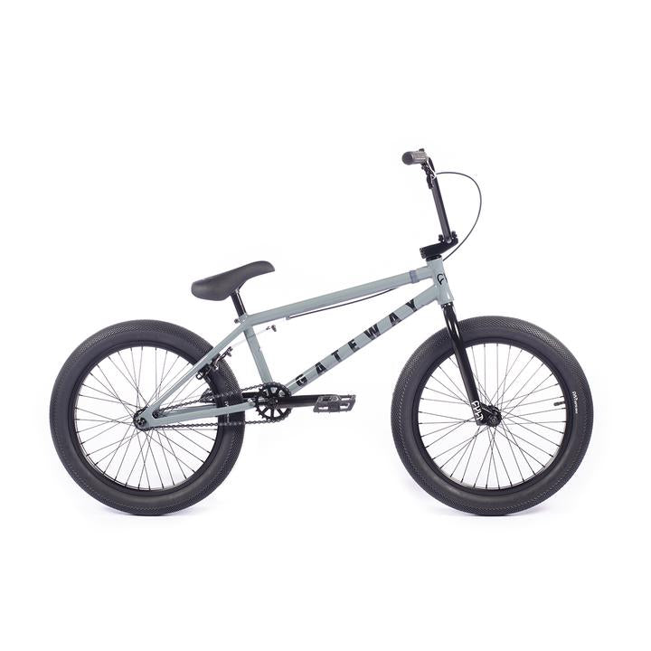 "2021 Cult Gateway 20"" Complete BMX Bike - 20""TT - Matte Gray"