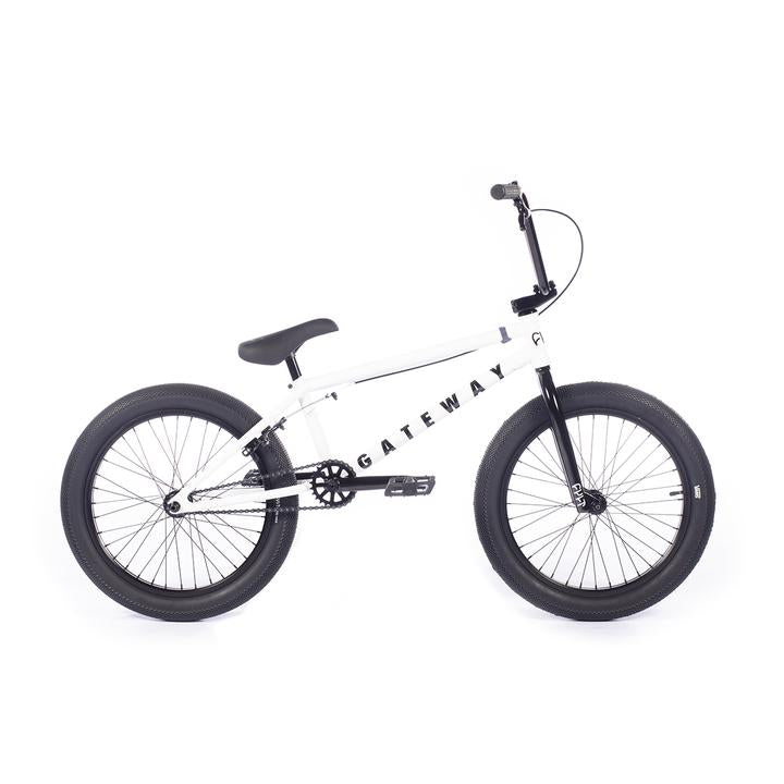 "2021 Cult Gateway 20"" Complete BMX Bike - 20""TT - Matte White"