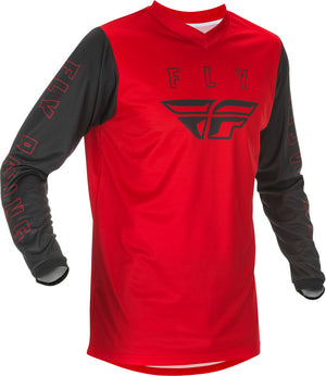 Fly F-16 BMX Jersey - Adult Large (L) - Red & Black