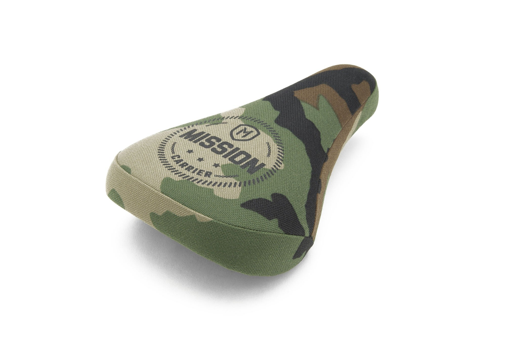 Mission Carrier Stealth Pivotal Padded BMX Seat - Camo