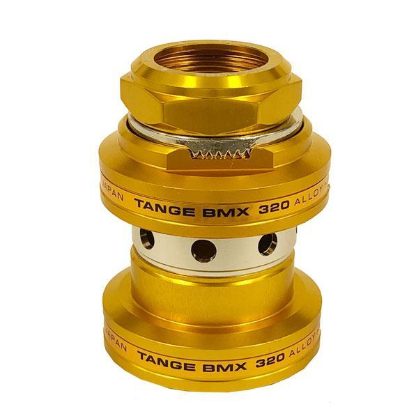 "Tange Seiki MX320 1"" Threaded BMX Headset - Gold - Made in Japan"