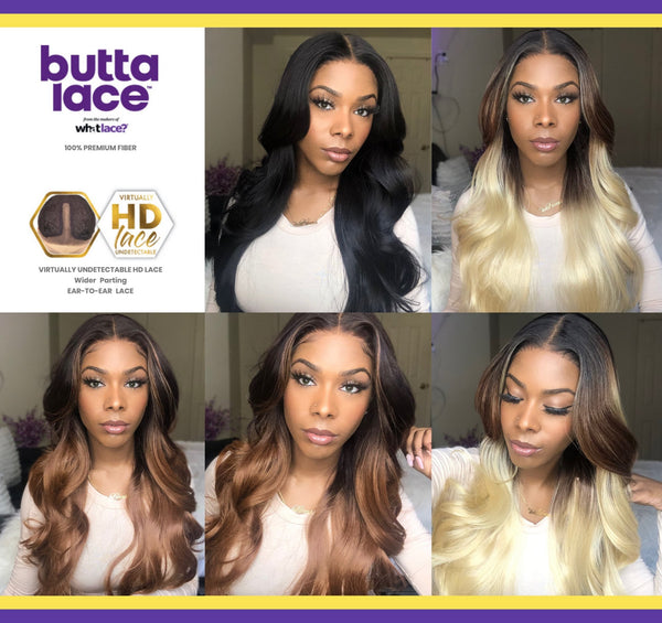 butta lace wig unit 2 sensationnel synthetic lace front wig