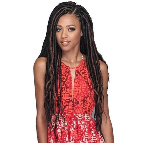BOBBI BOSS Crochet Braiding Hair Bobbi Boss Synthetic Crochet Braid - Island Locs 18""