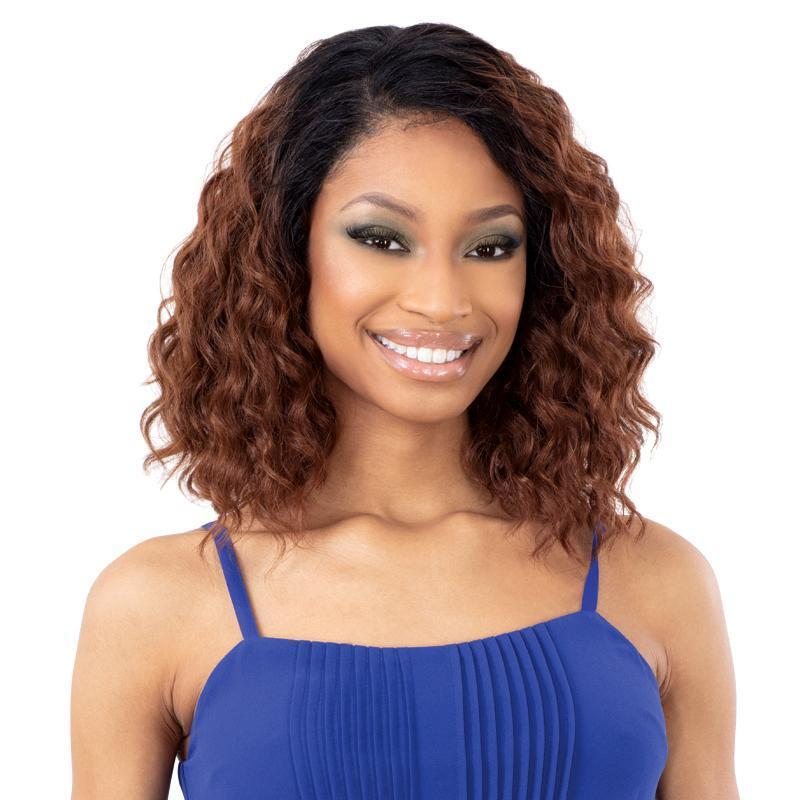 SHAKE-N-GO Synthetic Lace Front Wig FreeTress Equal HD Illusion Synthetic Lace Front Wig - HDL01