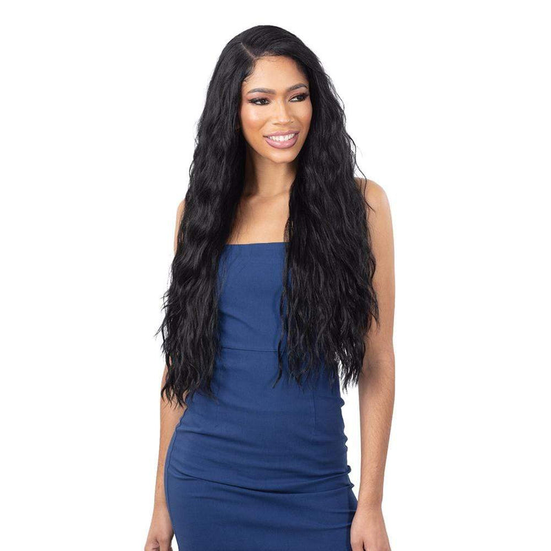 SHAKE-N-GO Synthetic Lace Front Wig FreeTress Equal Synthetic Illusion Lace Front Wig - IL-006