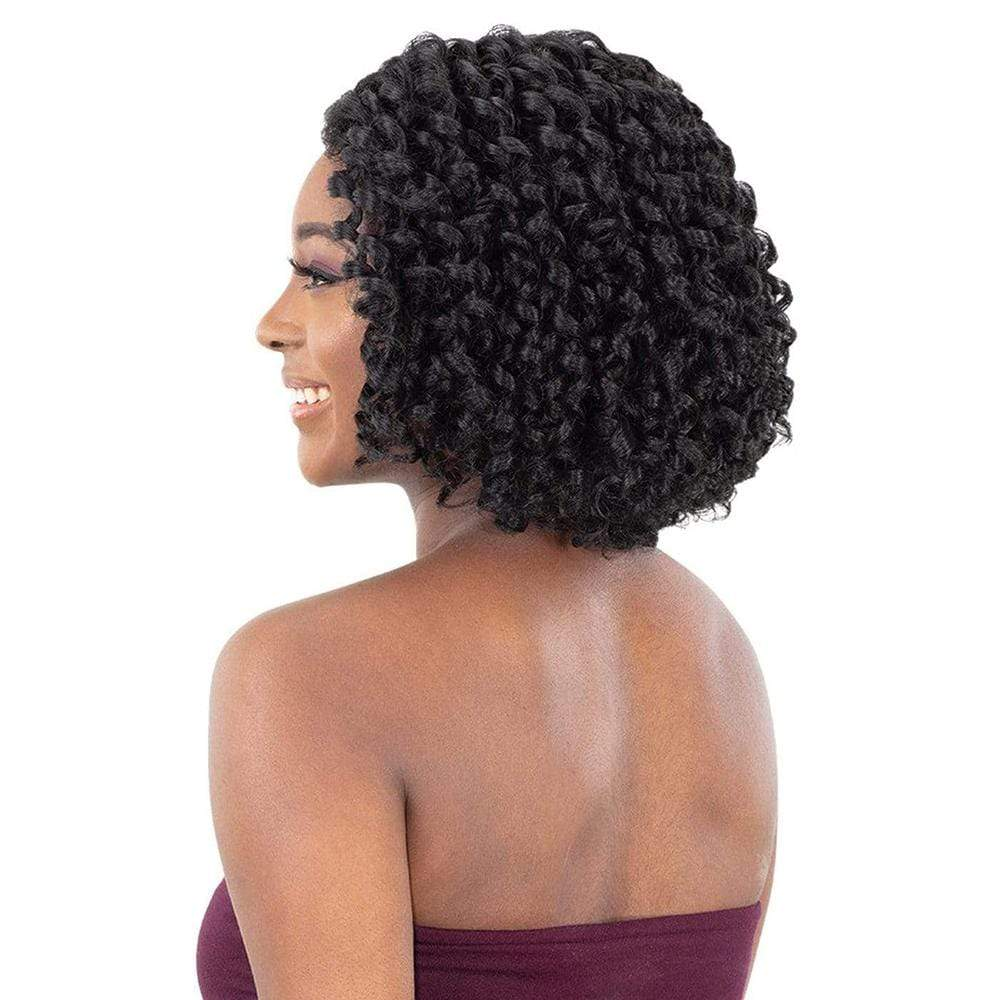 SHAKE-N-GO Synthetic Lace Front Wig FreeTress Equal Synthetic Lace & Lace Wig - Natural Flexi Set