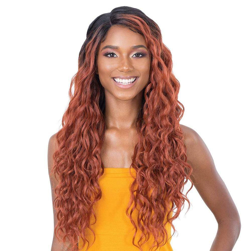 SHAKE-N-GO Synthetic Lace Front Wig FreeTress Equal Synthetic Lace & Lace Wig - Yelena