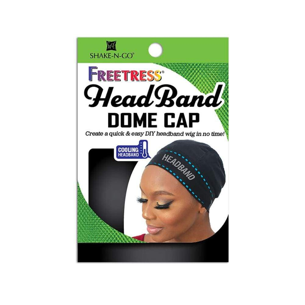 SHAKE-N-GO Accessories FreeTress Head Band Dome Cap - FBHDC
