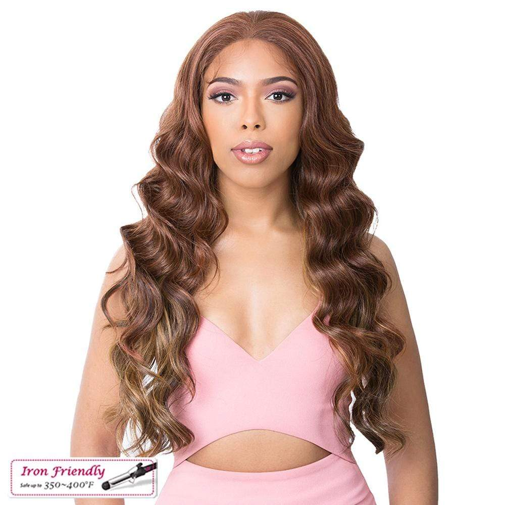 IT'S A WIG! Synthetic Lace Front Wig It's A Wig! Synthetic HD Transparent Lace Front Wig - Asia