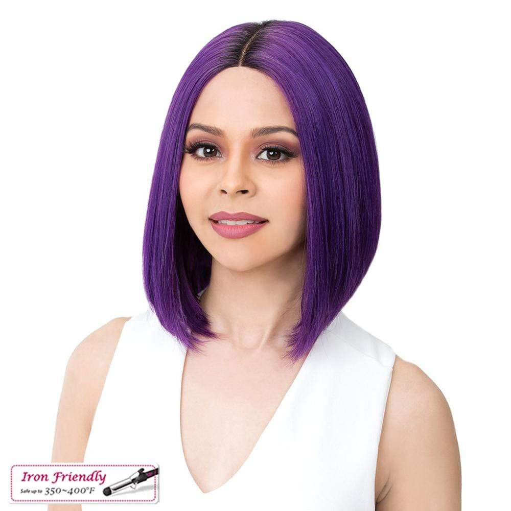 IT'S A WIG! Synthetic Lace Front Wig It's A Wig! Synthetic Swiss Lace Front Wig - Macon