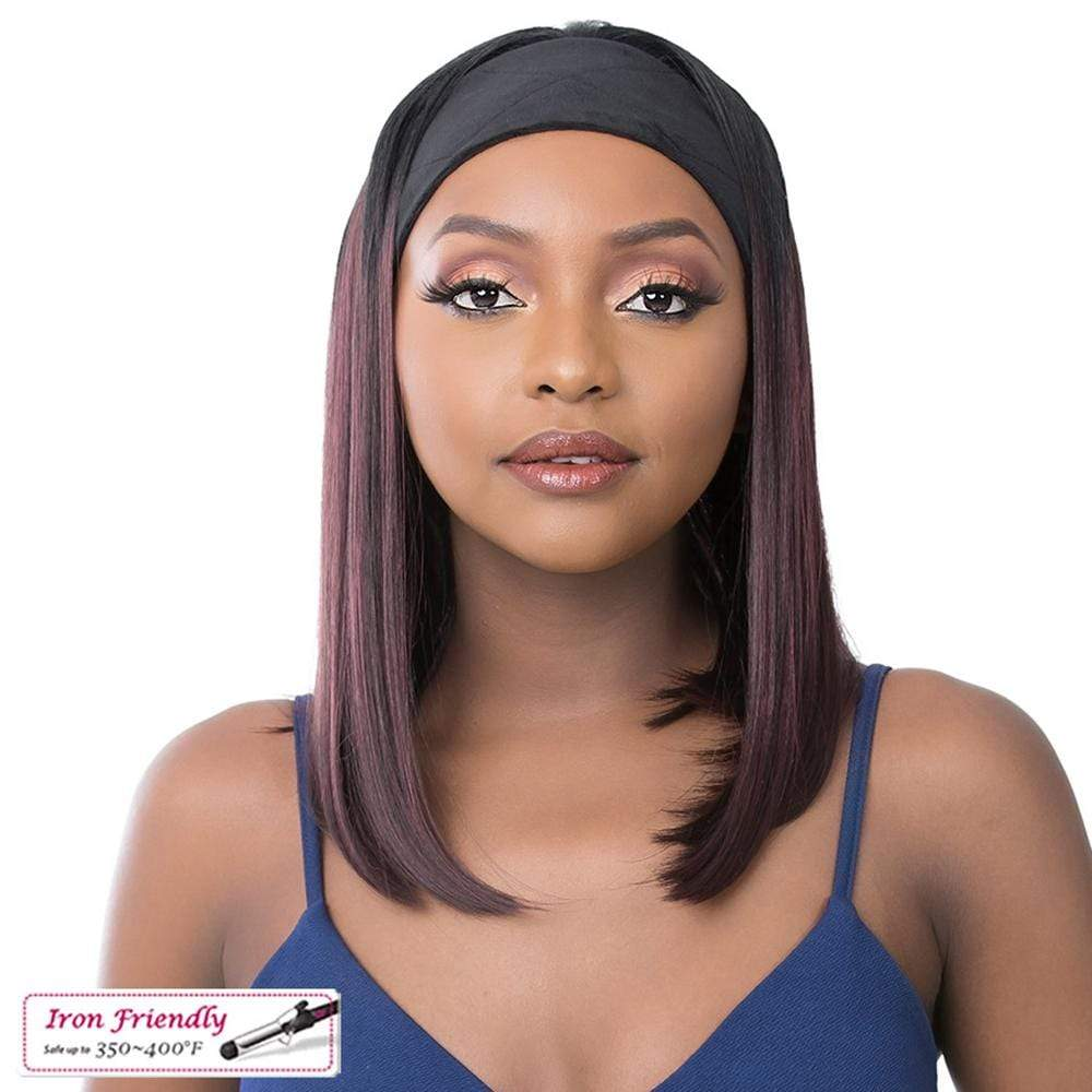 IT'S A WIG! Premium Synthetic Wig It's A Wig! Synthetic Wig - Headband Wig 1