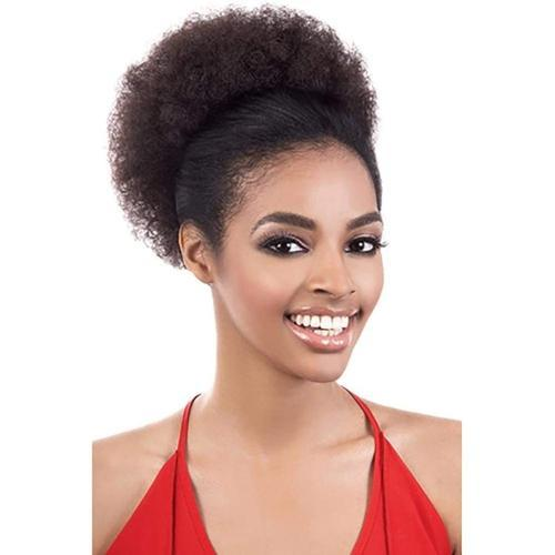 MOTOWN TRESS Synthetic Ponytail Motown Tress Synthetic Afro Puff Ponytail - PD-AFRO 5