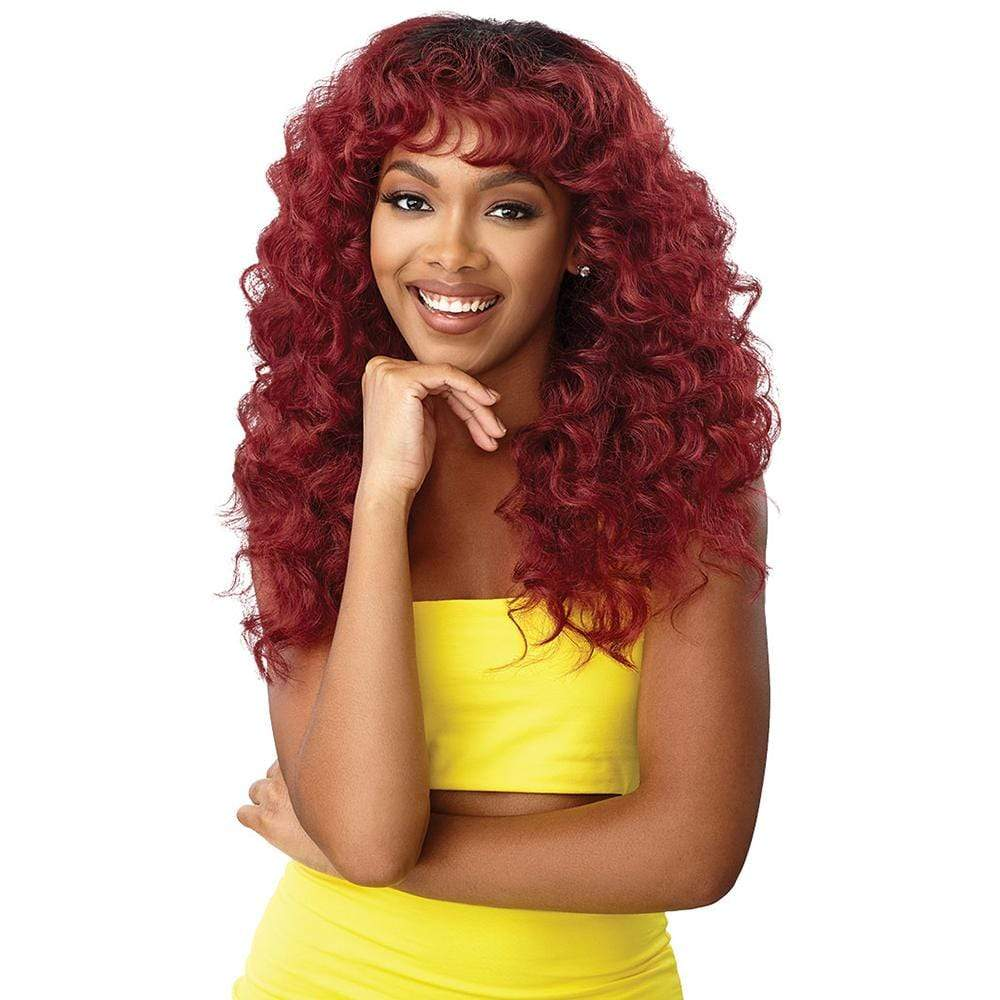 OUTRE Premium Synthetic Wig Outre Converti-Cap Synthetic Wig - Cascade Queen