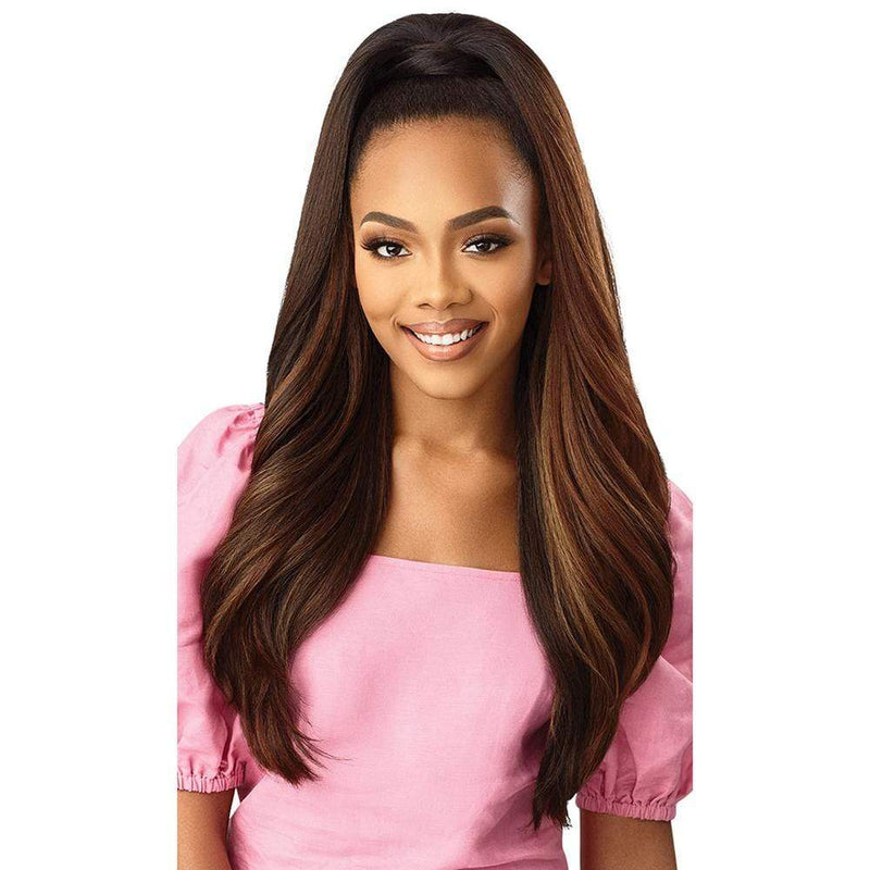 OUTRE Premium Synthetic Wig Outre Converti-Cap + Wrap Pony Synthetic Wig - Kiss & Tell