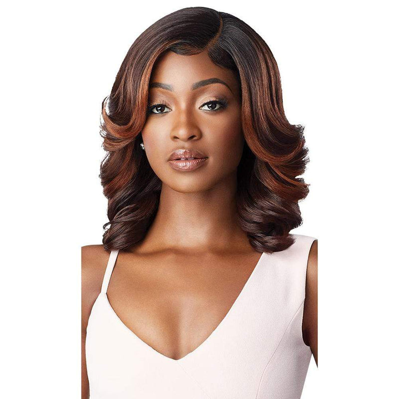 OUTRE Synthetic Lace Front Wig Outre Melted Hairline Synthetic Lace Front Wig - Arlissa