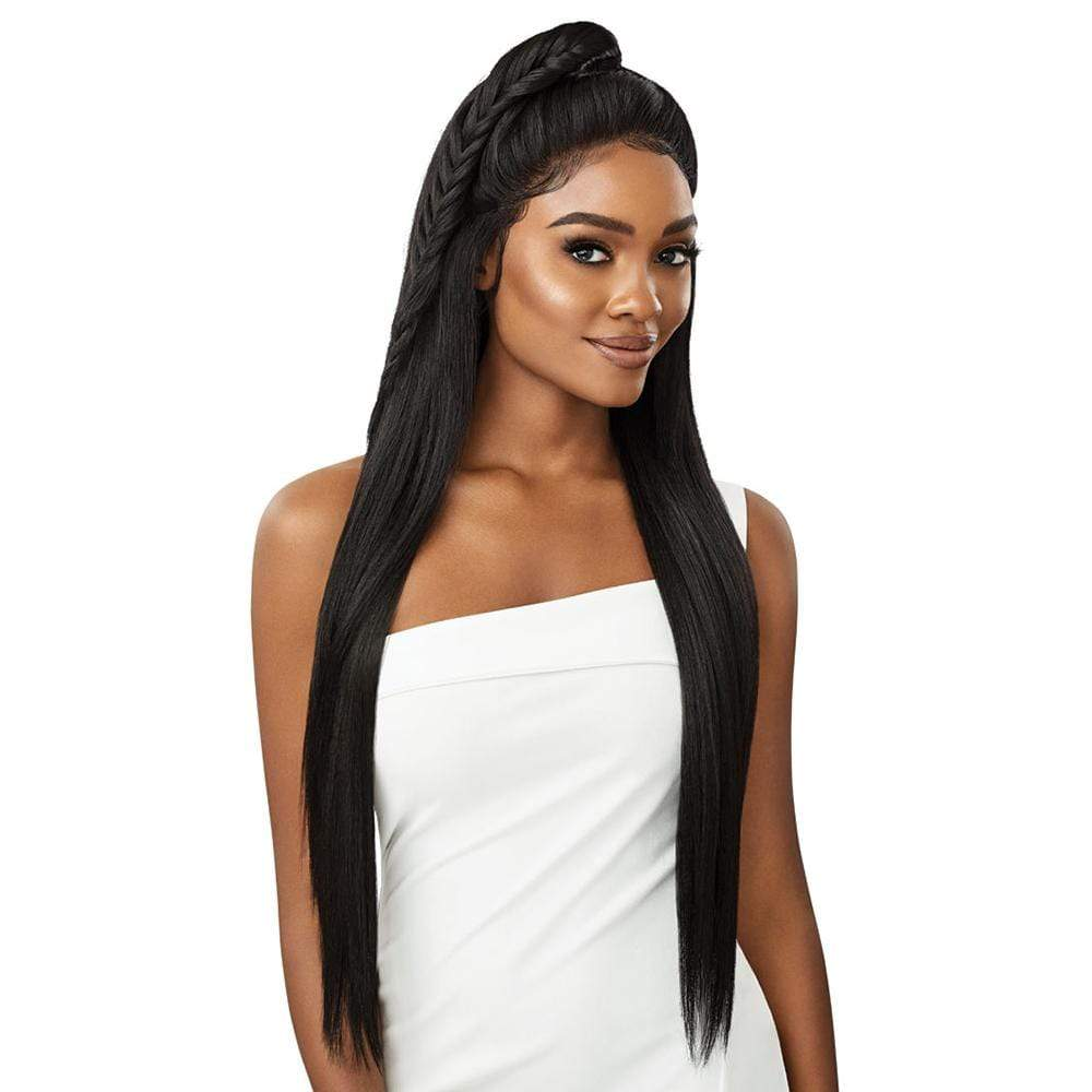 OUTRE Synthetic Lace Front Wig Outre Perfect Hairline Synthetic 13x6 HD Lace Frontal Wig - Shaday 32""