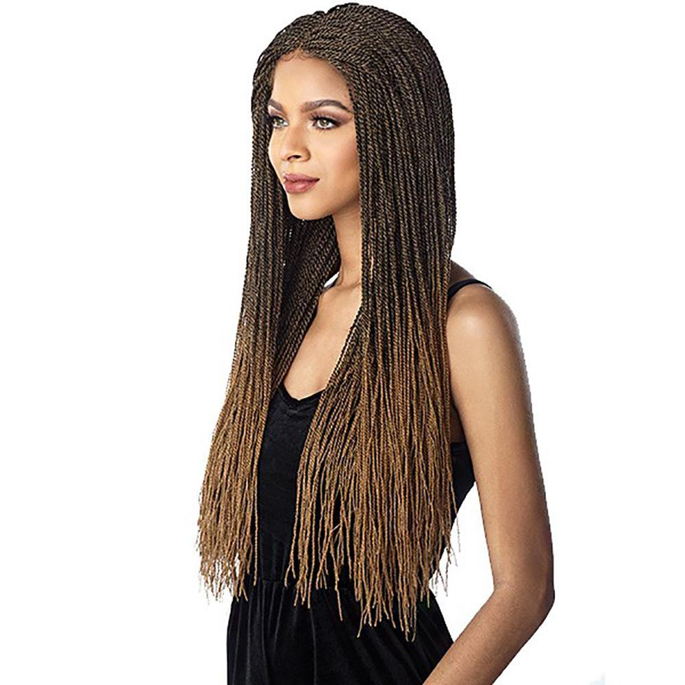 SENSATIONNEL Synthetic Lace Front Wig Sensationnel Cloud9 Synthetic Swiss Lace Wig - Micro Twist