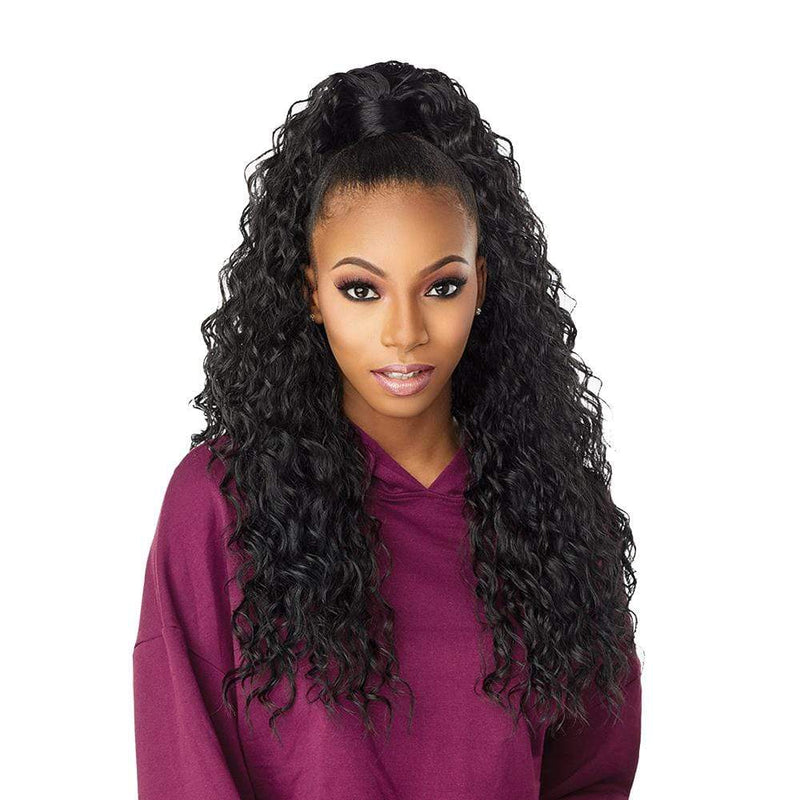 SENSATIONNEL Synthetic Half Wig Sensationnel Instant Up & Down (Half Wig + Ponytail) - UD 2