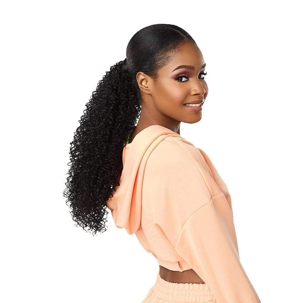 SENSATIONNEL Synthetic Half Wig Sensationnel Instant Up & Down (Half Wig + Ponytail) - UD 3