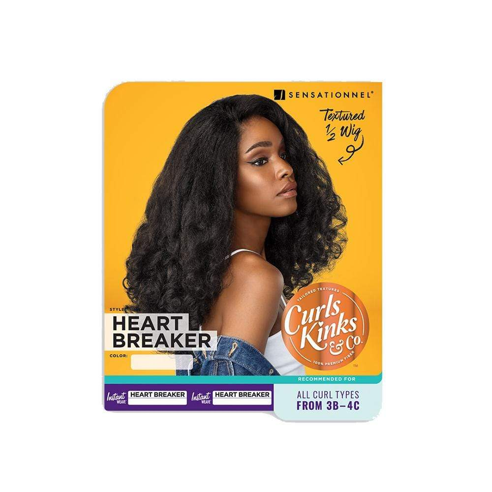 SENSATIONNEL Synthetic Half Wig Sensationnel Synthetic Instant Weave Half Wig - Heart Breaker