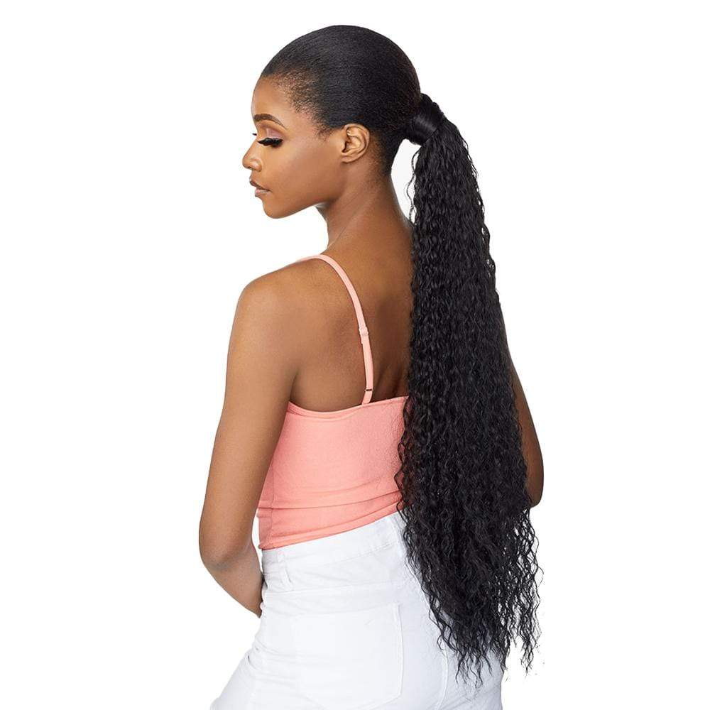 SENSATIONNEL Synthetic Ponytail Sensationnel Synthetic Instant Wrap Ponytail - French Wave 30""