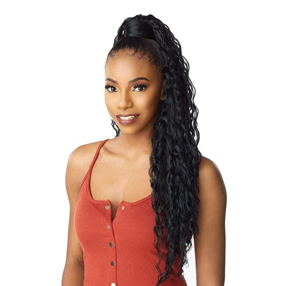 SENSATIONNEL Synthetic Ponytail Sensationnel Synthetic Instant Wrap Ponytail - Ripple Wave 30""