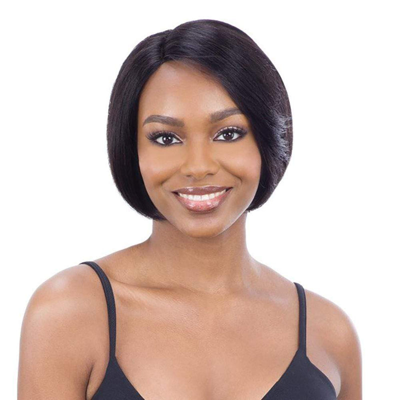 SHAKE-N-GO Human Hair Wigs Shake-N-Go Naked Brazilian 100% Human Hair Lace Part Wig - Cassity