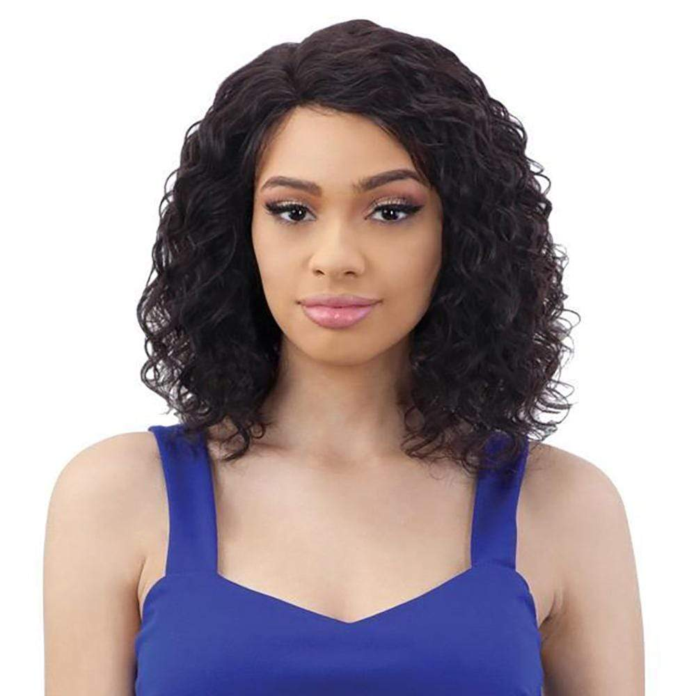 SHAKE-N-GO Human Hair Wigs Shake-N-Go Naked Brazilian Natural 100% Human Hair Lace Part Wig - Dale