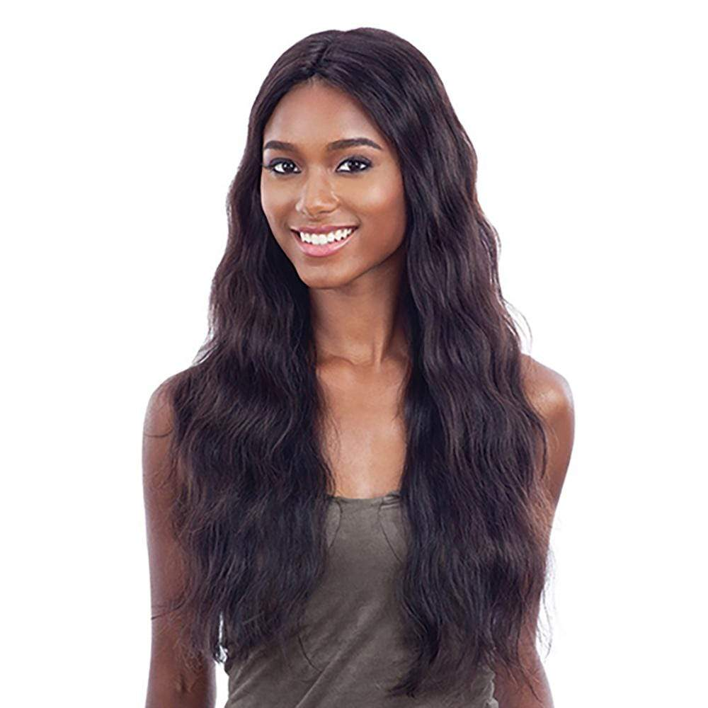 SHAKE-N-GO Human Hair Wigs Shake-N-Go Naked Human Hair Lace Part Wig - Natural 702