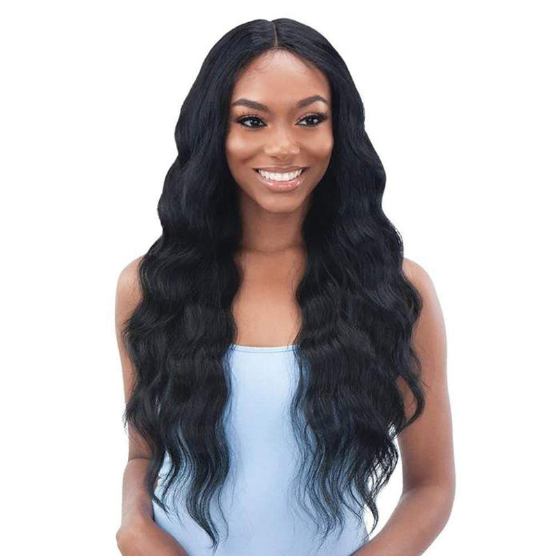 SHAKE-N-GO Synthetic Lace Front Wig Shake-N-Go Organique Synthetic Lace Front Wig - Halo Wave 28""