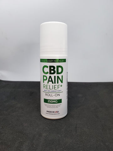 CBD Roll-On Cold Therapy Pain Relief By TKO (Anti-Inflammatory) 250mg