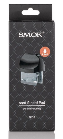 NORD 2 Replacement Pods By Smok (Coils NOT included)