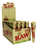 "Organic Pre-Rolled  RAW Cone 6pk 1 1/4"" By RAW"