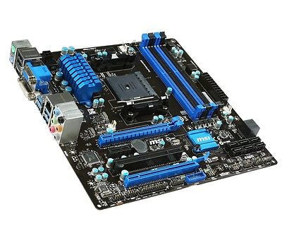 MSI FM2+/FM2 A88XM-E45 with HDMI SATA 6Gb/s Micro ATX AMD Motherboard