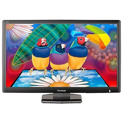 "ViewSonic 27"" Black VA2703-LED 3.4ms Widescreen LED Backlight LCD Monitor"