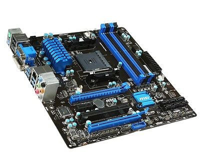 MSI FM2+/FM2 A78M-E45 with HDMI SATA 6Gb/s Micro ATX AMD Motherboard
