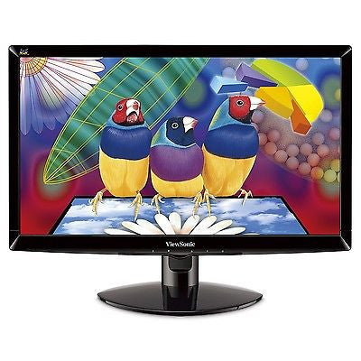 "ViewSonic 20"" Black VA2037A-LED 5ms Widescreen LED Backlight TFT LCD Monitor"