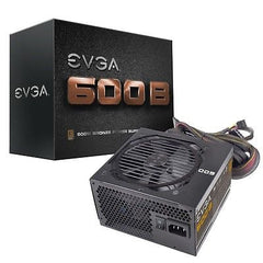 EVGA 600W 80 PLUS BRONZE Certified Power Supply - 100-B1-0600-KR