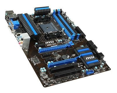 MSI FM2+/FM2 A88X-G43 with HDMI SATA 6Gb/s ATX AMD Motherboard