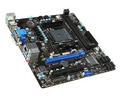 MSI FM2+/FM2 A78M-E35 with HDMI SATA 6Gb/s Micro ATX AMD Motherboard