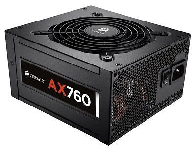 CORSAIR 760W AX760 SLI/CrossFire Ready 80 PLUS PLATINUM Full Modular PSU
