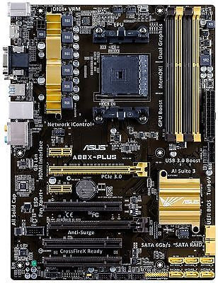 ASUS FM2+ / FM2 A88X-PLUS with HDMI SATA 6Gb/s ATX AMD Motherboard